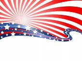 stock photo of patriot  - the abstract background of patriotic theme for design - JPG