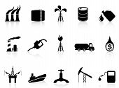 picture of crude-oil  - isolated oil industry icon from white background - JPG