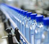 picture of reuse  - Close up from a bottle industry - JPG