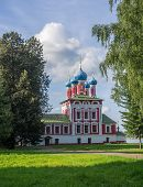 image of uglich  - View of the temple of Tsarevich Dmitry 17 August 2013 in Uglich - JPG