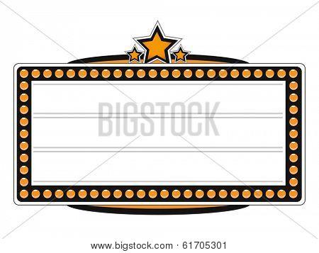 Blank Cinema Billboard Design. (EPS vector version also available in portfolio)