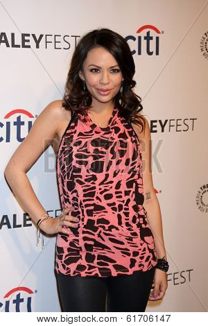 LOS ANGELES - MAR 16:  Janel Parrish at the PaleyFEST -