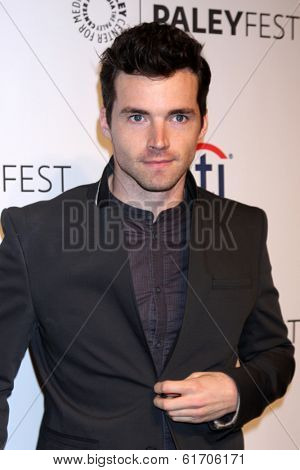 LOS ANGELES - MAR 16:  Ian Harding at the PaleyFEST -