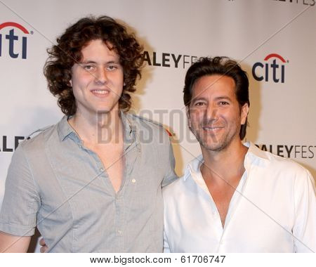 LOS ANGELES - MAR 16:  Eli Cusick, Henry Ian Cusick at the PaleyFEST -