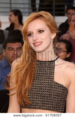 LOS ANGELES - MAR 18:  Bella Thorne at the
