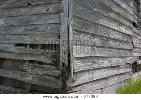 Old Wood Shed Detail