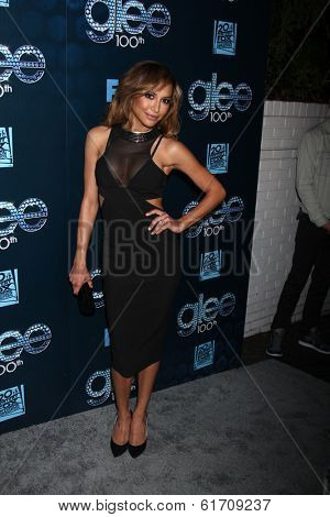 LOS ANGELES - MAR 18:  Naya Rivera at the GLEE 100th Episode Party at Chateau Marmont on March 18, 2014 in West Hollywood, CA