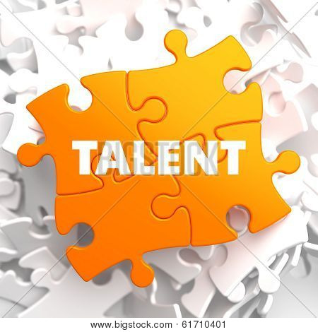 Talent on Orange Puzzle.