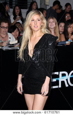 LOS ANGELES - MAR 18:  Ellie Goulding at the