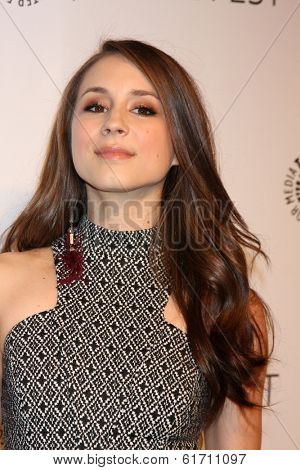 LOS ANGELES - MAR 16:  Troian Bellisario at the PaleyFEST -