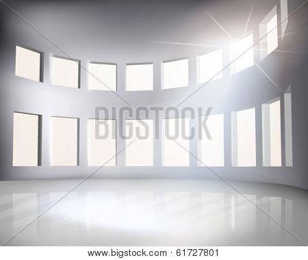 Arena. Vector illustration.