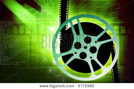 Film with film reel