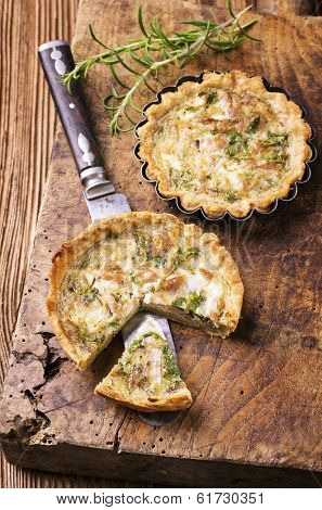 quiche with tuna fish