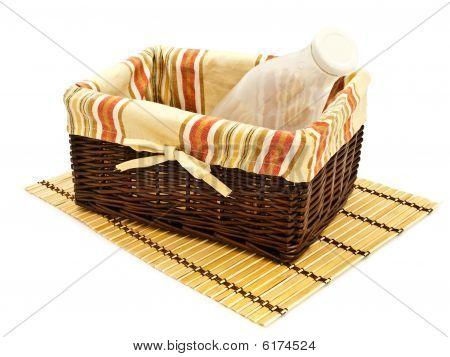 Bottle In Basket