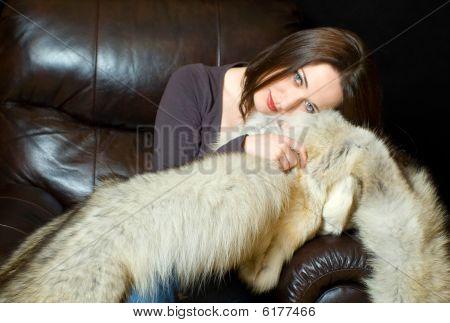 Portrait With Fur