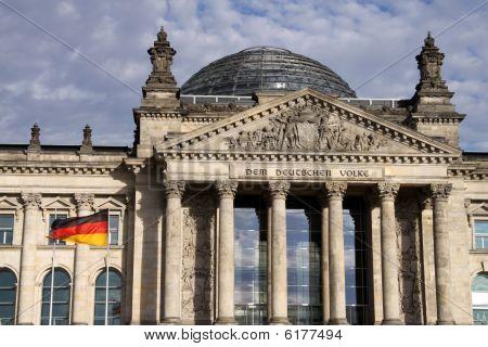 The Reichstag. Berlin