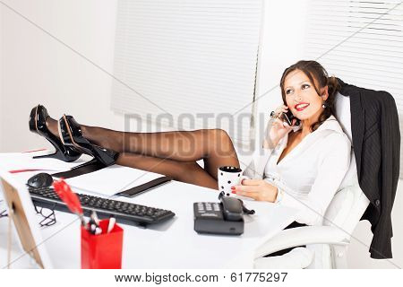Hot Business Woman