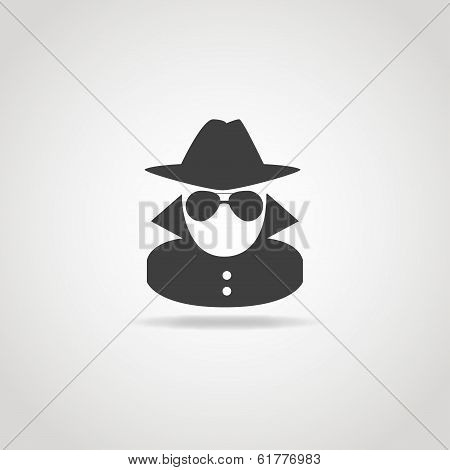 Anonymous Spy Icon