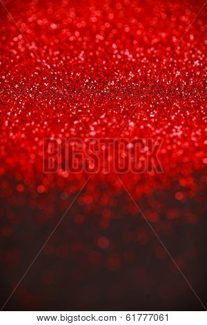 Red and black glitter abstract background. Holiday, Christmas, Valentines, Beauty and Nails texture