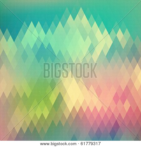 Abstract Rhombus Background