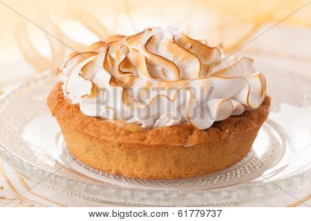 pie with meringue