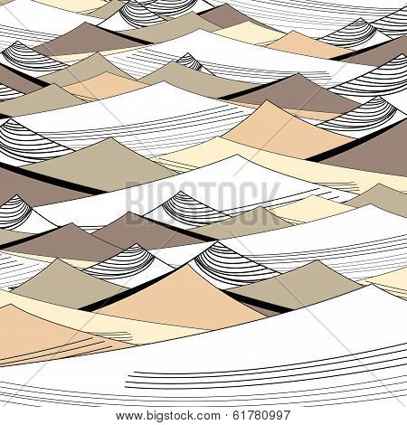Background Of The Graphic Dunes