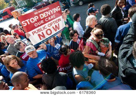 Gesundheitswesen protest
