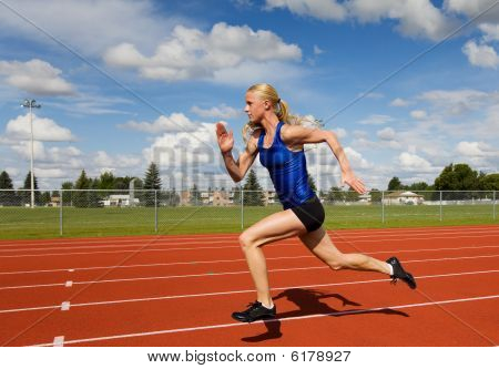 Running Athlete