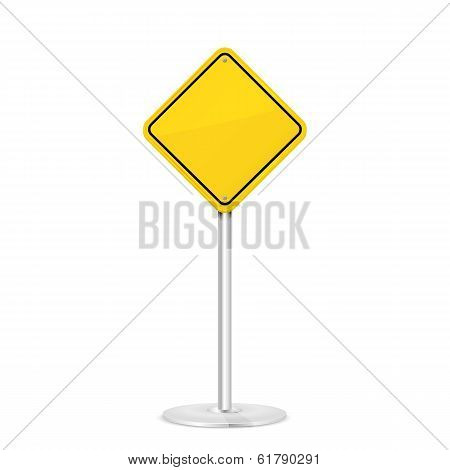 Yellow road signSigns