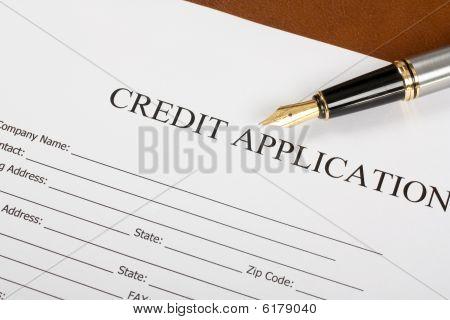Credit Application Form