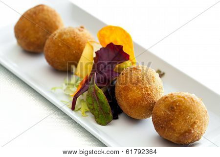 Cheese Croquette.