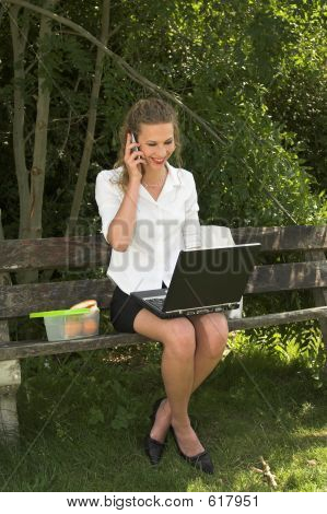 Pretty Businesswoman; Pleasure