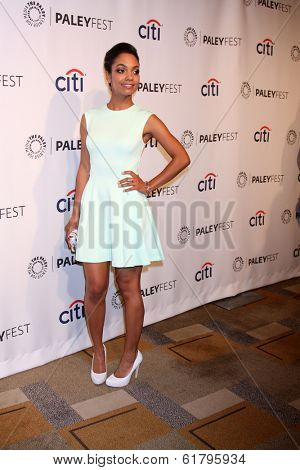 LOS ANGELES - MAR 19:  Lyndie Greenwood at the PaleyFEST -