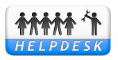 foto of helpdesk  - online helpdesk support desk or help desk button technical assitance and customer service - JPG