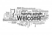 image of malay  - Welcome phrase in 78 different languages - JPG