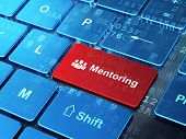 stock photo of mentoring  - Education concept - JPG