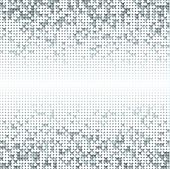picture of spatial  - Silver gray seamless shimmer background with shiny light and dark paillettes - JPG