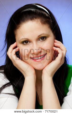Vertical Woman Portrait