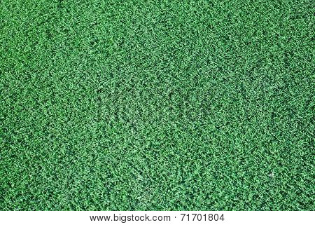 synthetic green grass