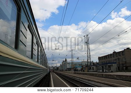 Travel on the Railways of Russia.