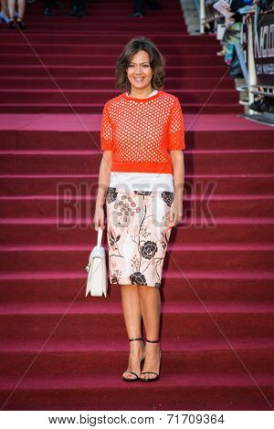 MOSCOW, RUSSIA, May, 13: Kseniya Chelingarova. Premiere of the movie