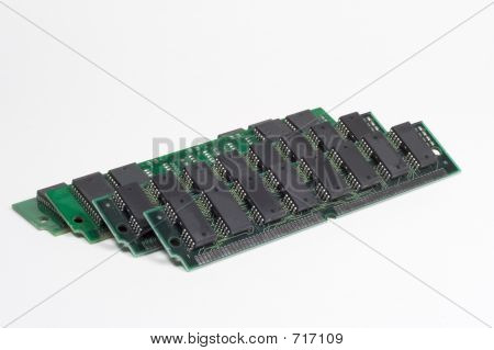 Computer Memory Modules Stack