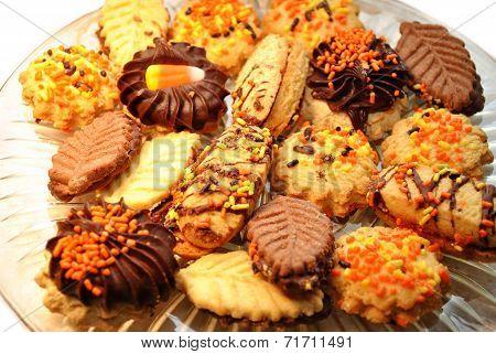 Fall Festive Cookie Platter