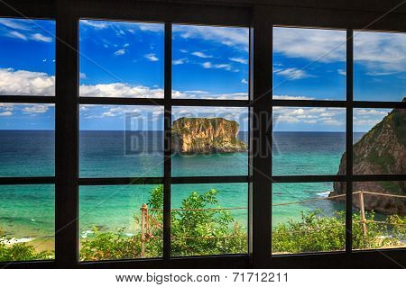 Ocean View - Dream Of Turquoise Blue Water Background