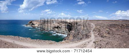 Fuerteventura - Caleta Negra in the north of Ajuy
