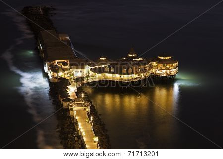 Pier In Miraflores, Lima