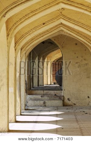 Archways At Qutb Shahi Tombs