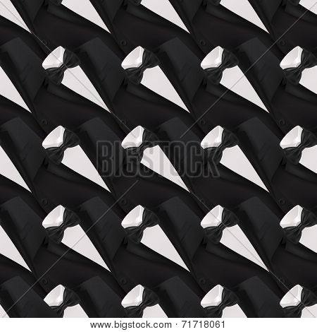 Tuxedo seamless background