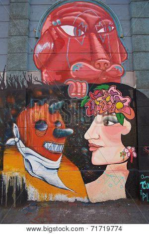 Murals of Barrio Yungay