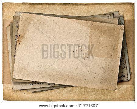 Blank Vintage Post Card Background